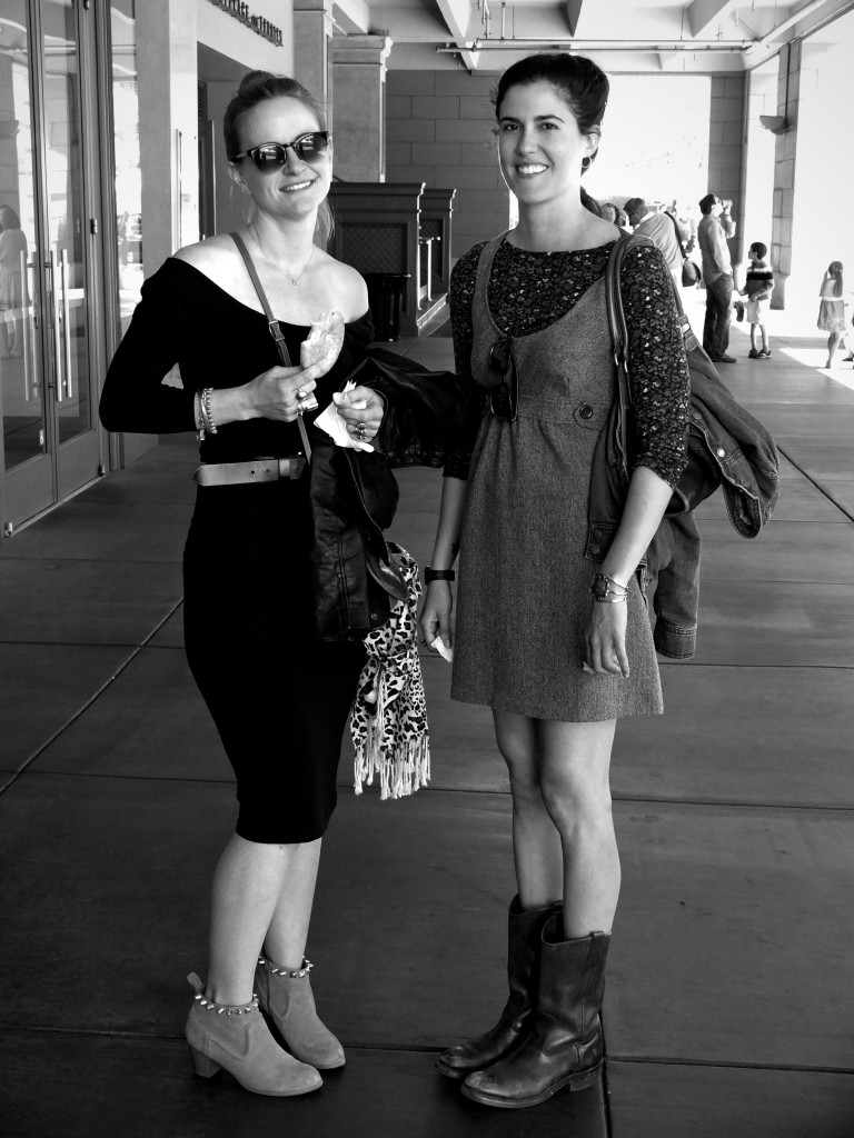 Blair and Erica B&amp;W