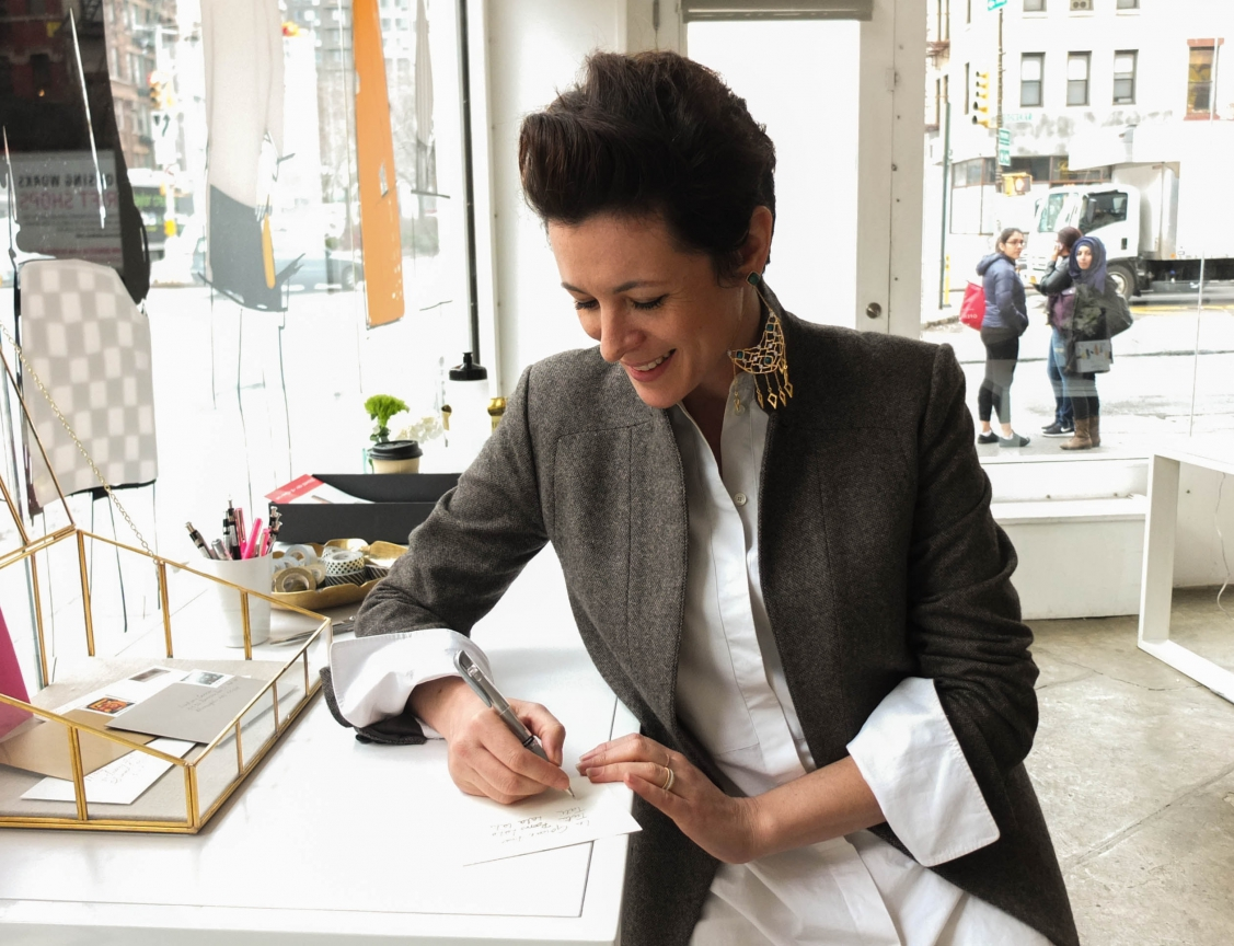 Garance Dore Launches Her Stationery Line in New York